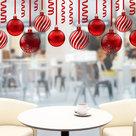 Muur--Raamsticker-Kerstballen-10-stuks