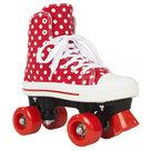 Maat-34-Rookie-Rolschaatsen-CANVAS-HIGH-POLKADOTS-(rood-wit)