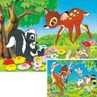 Bambi-en-zijn-Vriendjes-Puzzel-(2-puzzels-van-20-stukjes)