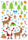 Muurstickers Kerstmis