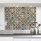 Keukenwand Sticker Tegel Groen