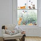 Raamsticker-Kitten-&-Vlinders