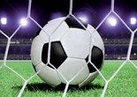 Voetbal-Bal-behang-L