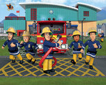 Brandweerman-Sam-XXL-Behang