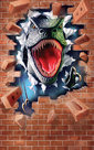 Dinosaurus-Behangposter