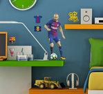 FC-Barcelona-Muursticker-Iniesta