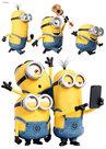 Muursticker-Minions-Selfie-&-Run