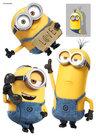 Muursticker-Minions-Stuart-Kevin-&-Bob