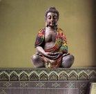 Muursticker-Buddha