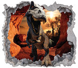 T-Rex-Dinosaurus-behang-XXXL-(rood)