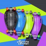 Street Sledge - Skateboard Slee (Green Rocket)_