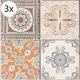 Vloertegel (stickers) - Perzische Tegels - 40 x 40 cm (3x)