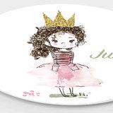 Wandcirkel Prinses – met eigen naam!_