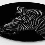 Wandcirkel Zebra – Ø 40 - 60 - 90 - 110 cm_