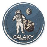 Tizato Wandcirkel Astronaut