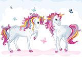 Unicorn behang XXXL (368 x 254 cm) - VLIES_