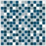 Tegel Wandsticker Blauw/Wit