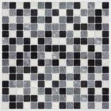 Tegel wandsticker Zwart/Wit