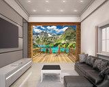 Alpine Mountain XXL Behang_