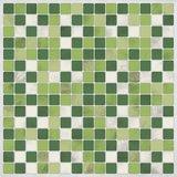 Tegels groen/wit