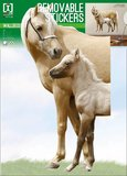 Muursticker Paard met Veulen_