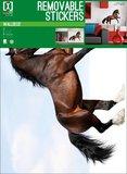 Muursticker Paard (bruin)_