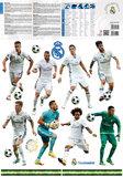 Muursticker Real Madrid 16 Spelers_