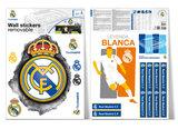 Muursticker Real Madrid Logo Hole (klein)_
