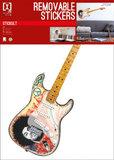 Muursticker Electrische Gitaar - Jimi Hendrix_