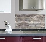 Keuken Achterwand Sticker Stenen XL - 1 meter breed_
