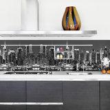 Keuken Achterwand Sticker New York Skyline XXL - 180 x 45 cm_