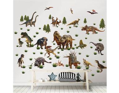 Dinosaurus Muursticker Box (80 stickers)