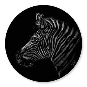 Wandcirkel Zebra Tizato
