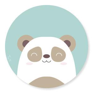 Wandcirkel Tizato Panda