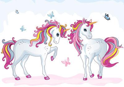 Unicorn behang XXXL (368 x 254 cm) - VLIES