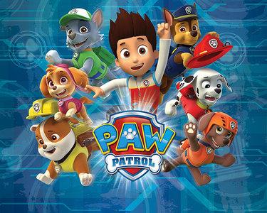 Paw Patrol XXL behang