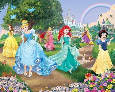 (UITVERKOCHT) Disney Prinsessen XXL behang