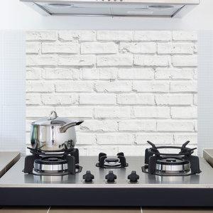 Keuken Achterwand Sticker Witte Muur