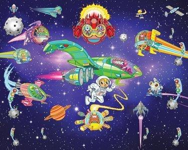 Alien Adventure XXL Behang