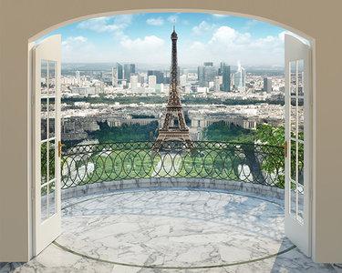 Walltastic Eiffeltoren Parijs Eiffel Tower Paris