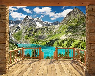 Alpine Mountain XXL Behang