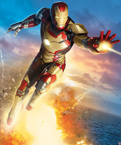 Walltastic Iron Man