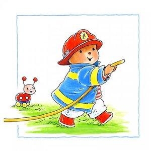Baby Bobbi als Brandweer