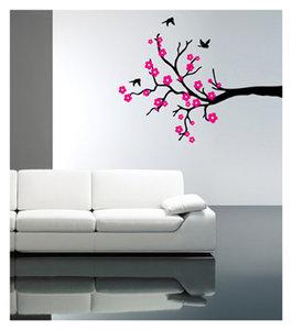 Kersenbloesem (zwart roze)