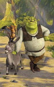 Shrek Behangposter