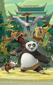 Kung Fu Panda Behangposter