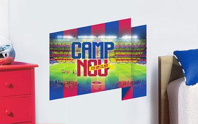 FC Barcelona Muursticker Stadion Nou Camp