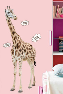 Muursticker Giraf (groot)