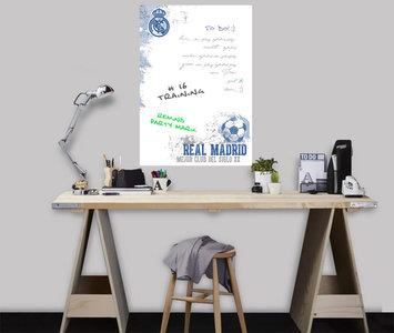 Real Madrid Muursticker White Board