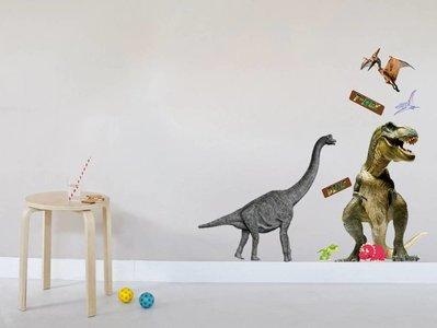Muursticker Dinosaurussen T-Rex (groot)